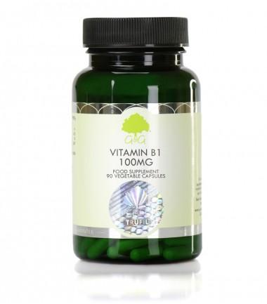 Vitamin B1, Tiamin 100 mg, 90 kapsul