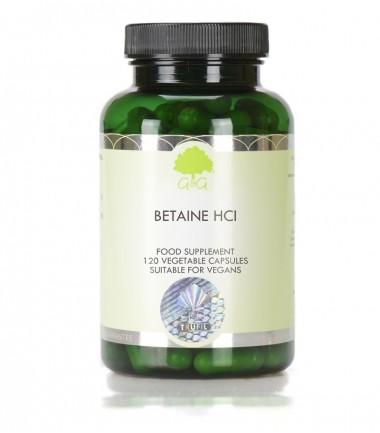 Betain HCl 480 mg, 120 kapsula