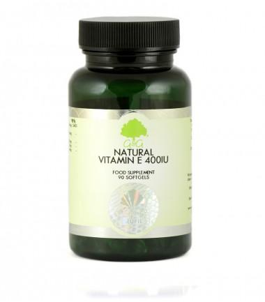 Prirodni vitamin E 400iu, 120 kapsula