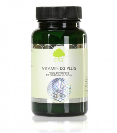 Vitamin D3 Plus s vitaminom K2, 60 kapsula