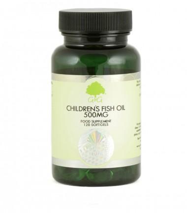 Omega 3 za djecu, riblje ulje 500 mg, 120 kapsula