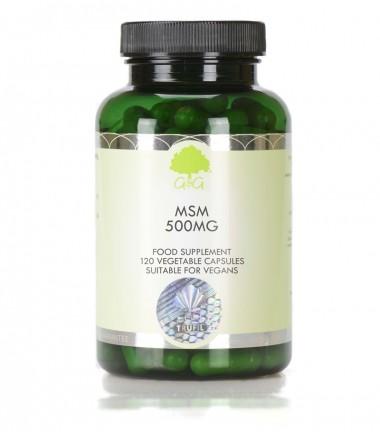 MSM 500 mg, 120 kapsula