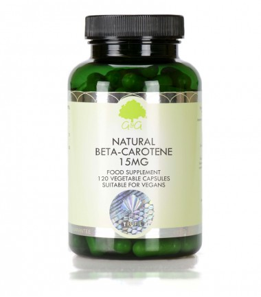 Prirodni beta-karoten 15 mg, 120 kapsula