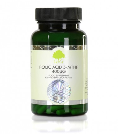 Bioaktivni oblik folne kiseline 5-MTHF, 120 kapsula